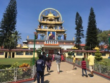 The monastery was established by the 11th throne-holder of the Palyul lineage.
